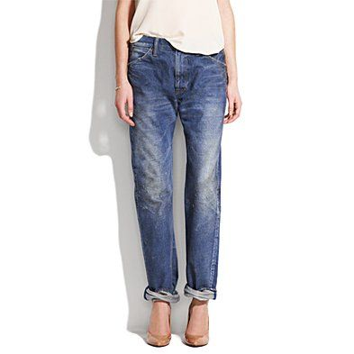 Chimala denim work pants | $437 at Madewell