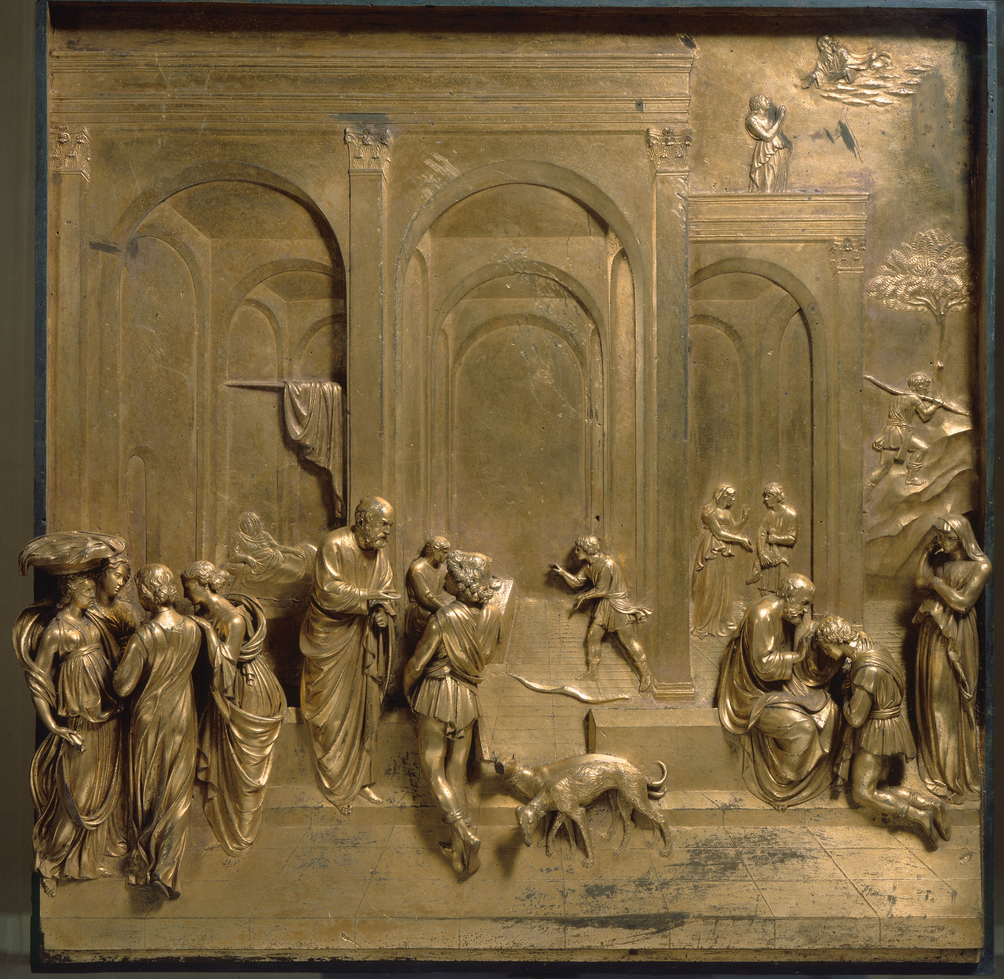 Ghiberti. Jacob and Esau The Gates of Paradise | The Bible ...