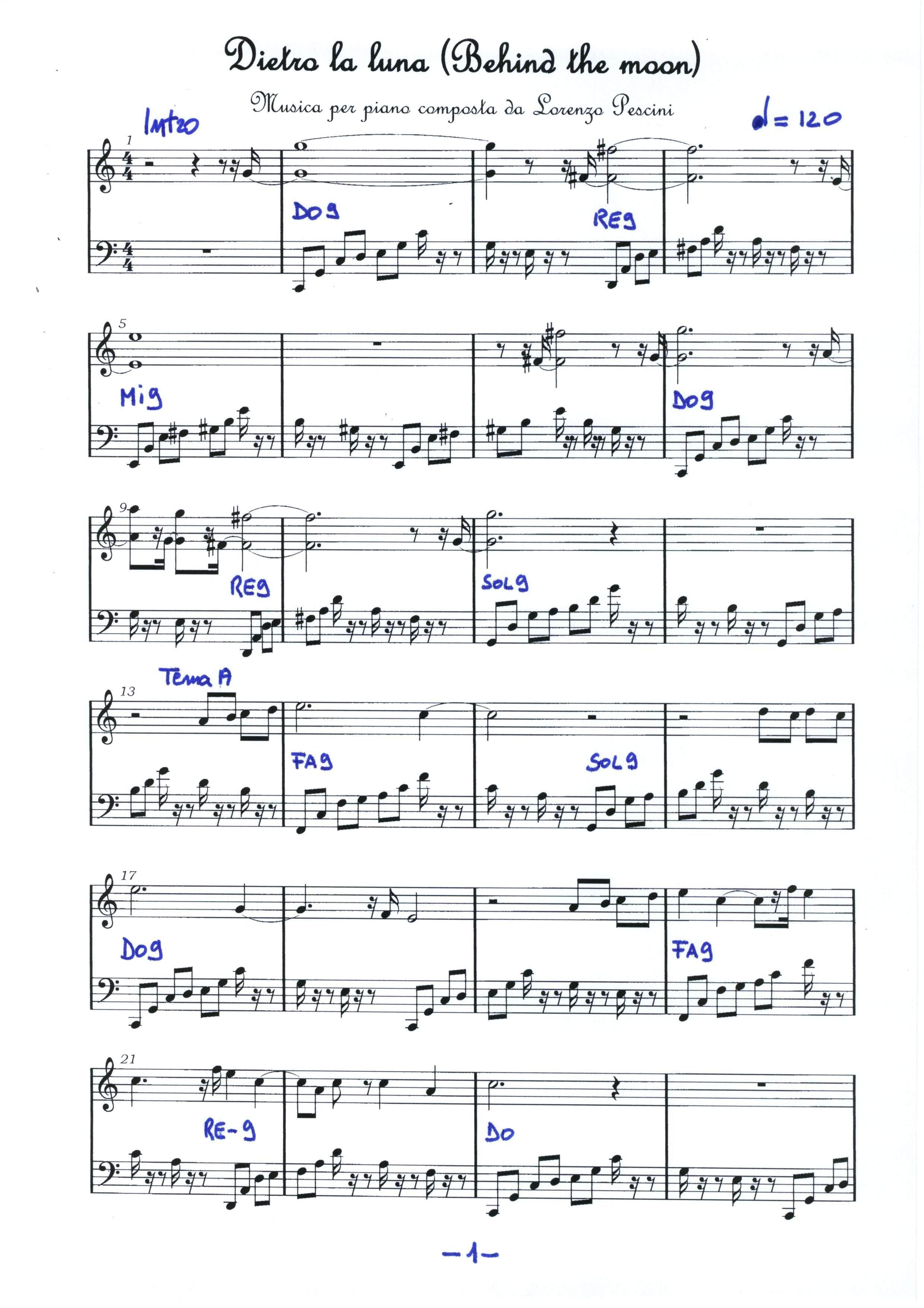 spartiti pianoforte natale