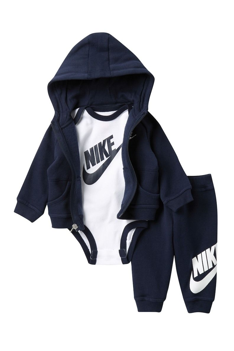 Image Of Nike Futura 3 Piece Gift Set Baby Boys Baby Boy Outfits Swag Cute Baby Boy Outfits Baby Outfits Newborn