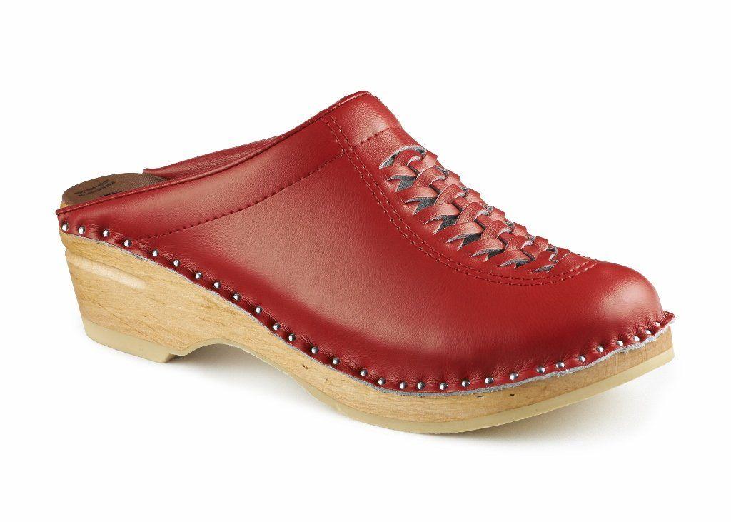 Troentorp Women's Båstad Original Wright Leather Clog