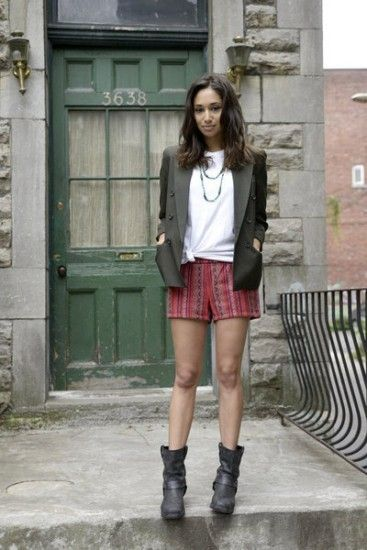 love the boots! - Meaghan Rath as Sally on Being Human SyFy