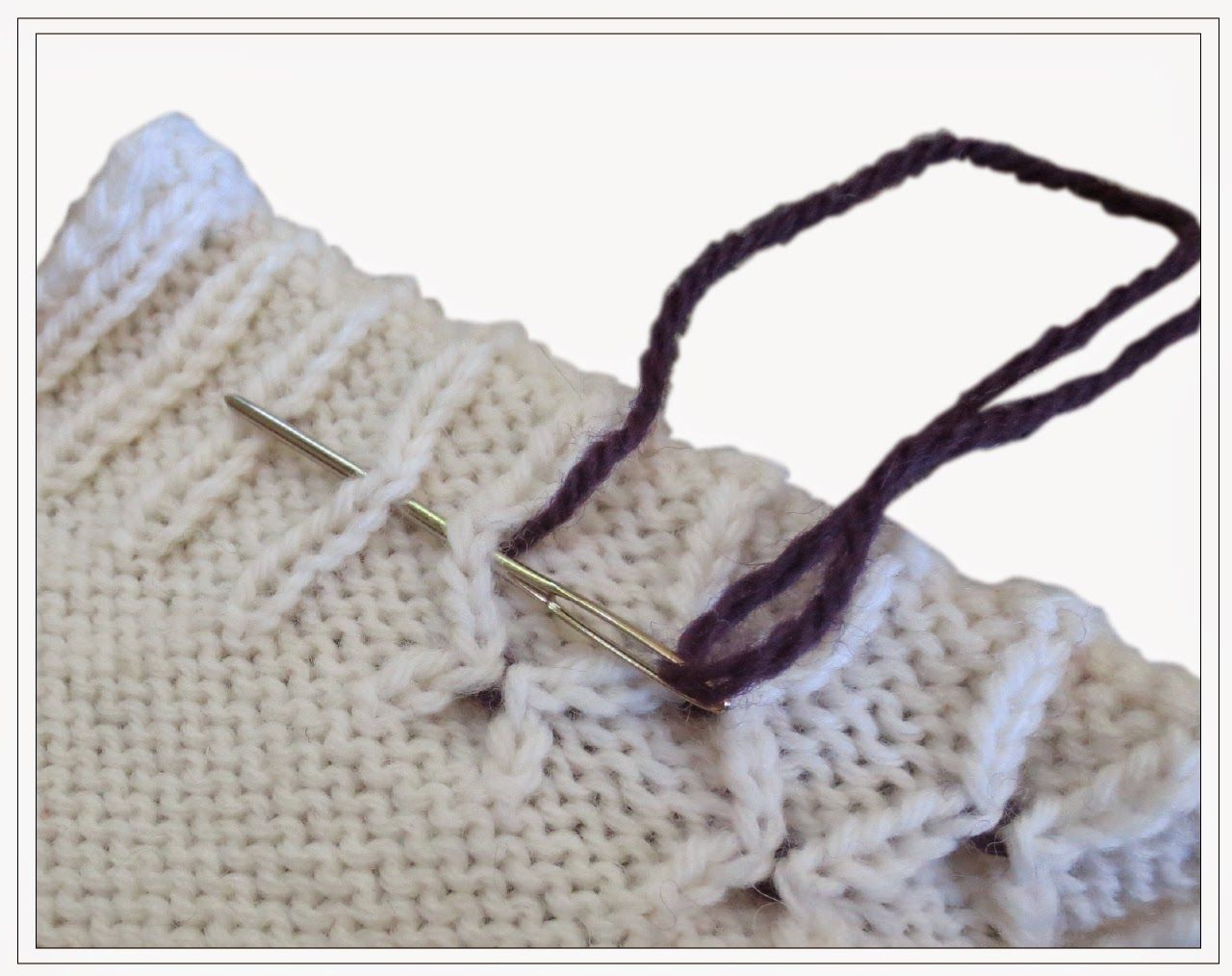 TECHknitting: Invisible afterthought smocking: a useful (and ...