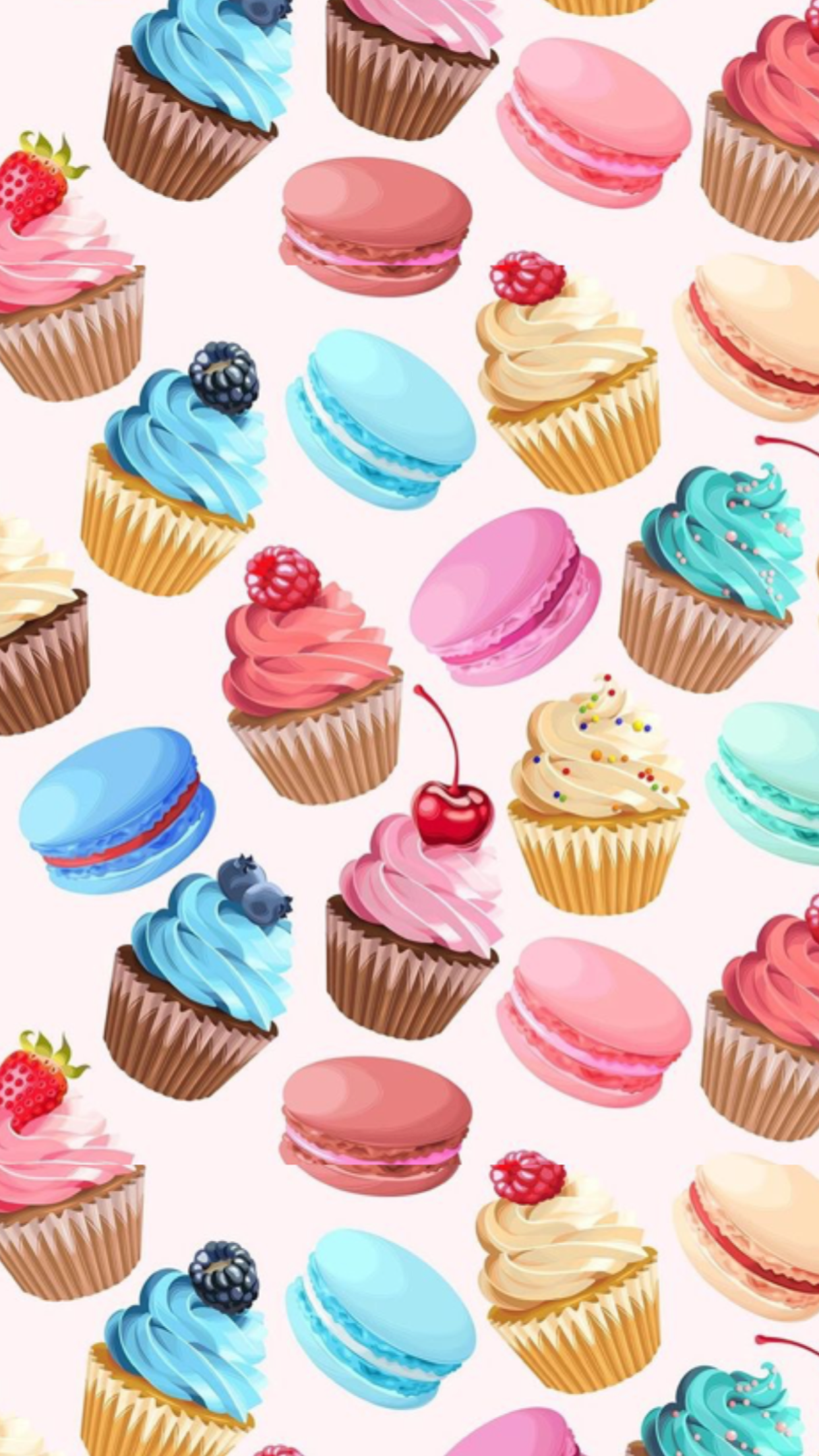 Pin By Ayu Majun On Cupcakes Wallpaper Background Patterns