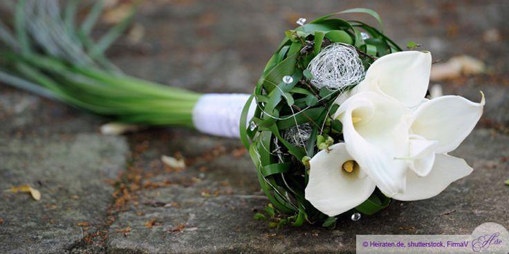 Brautstrau mit CallaBlumen  Blumen  Braut Blumenstrau hochzeit und Strau