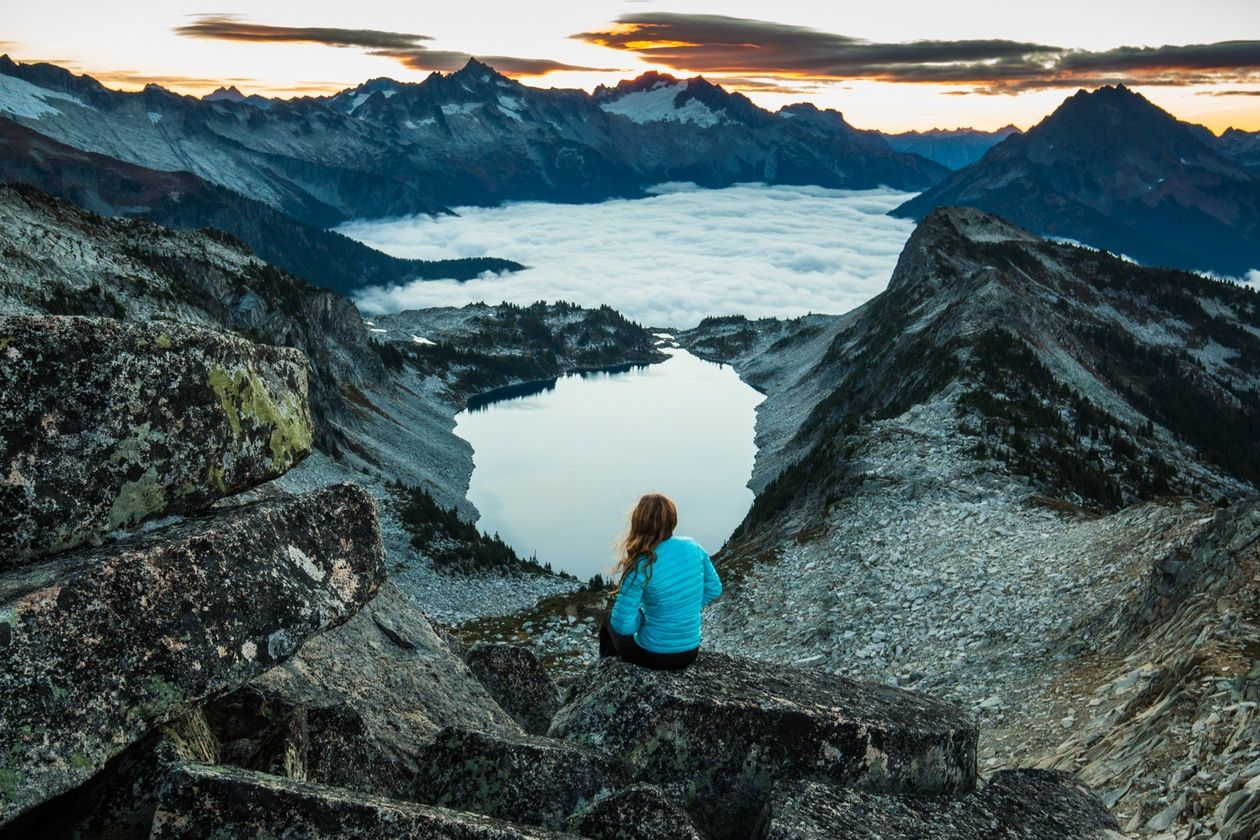 Hike to hidden lake lookout washington hikes places to