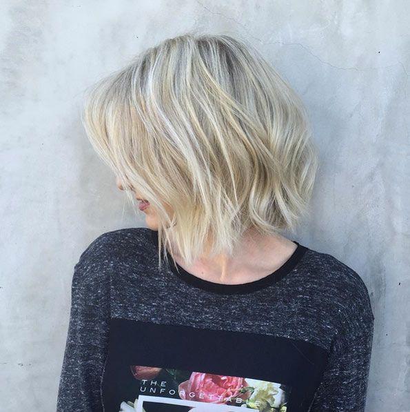 55 Popular Short Bob Haircuts Hairstyles Ashy Blonde Bobs And Blondes