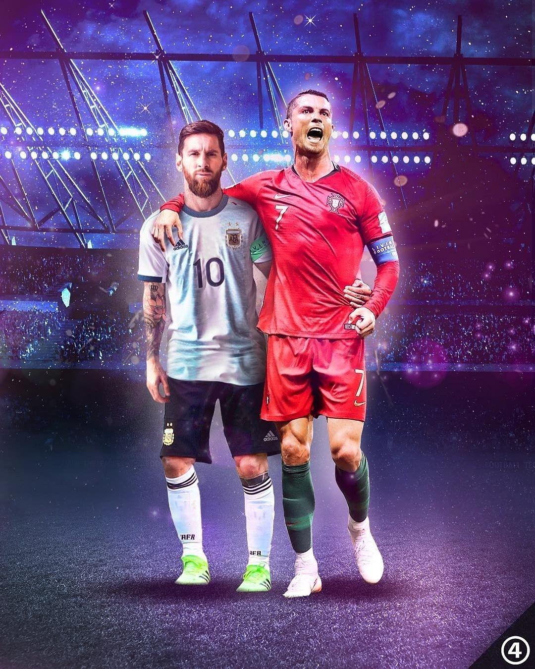 They Re Back Lionel Messi Argentina Cristiano Ronaldo Portugal Dibujos De Cristiano Ronaldo Messi Y Cristiano Fotos De Futbol
