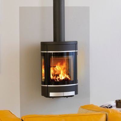 Awesome The Modern HWAM 3110 Helps Create A Warm And Cozy Atmosphere In Your House.  This Elliptical Hanging Stove Showcases Design Originated In Pure  Scandinavian ... Pictures