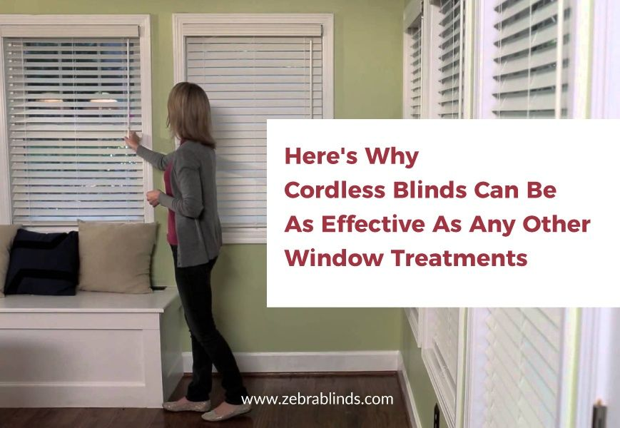 How To Use Cordless Blinds And Why Cordless Blinds Can Be Effective Blinds Bedroom Blinds Window Coverings
