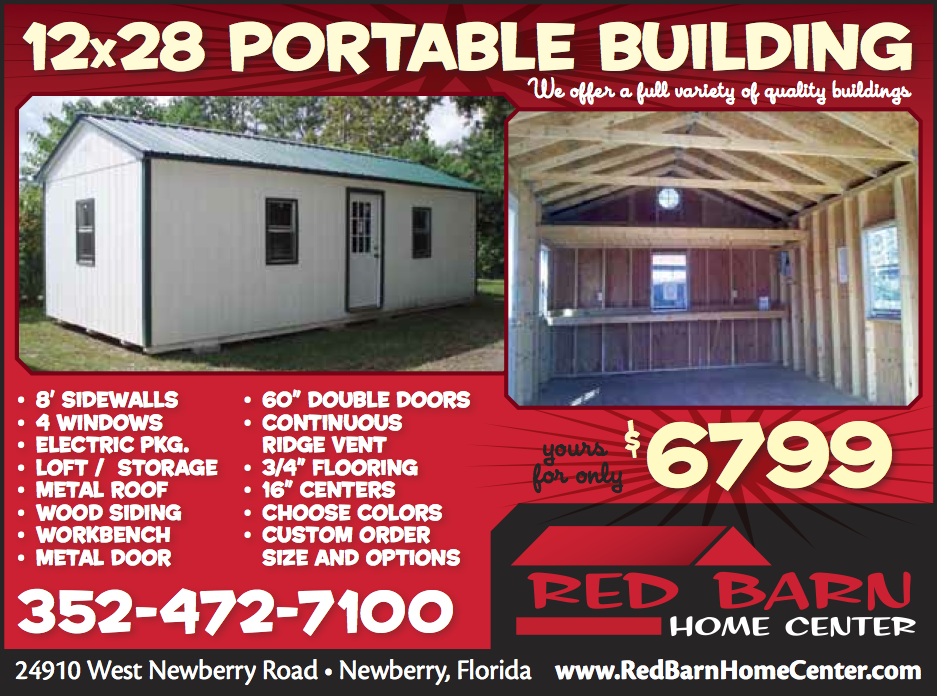 Portable building package at Red Barn Home Center in ...