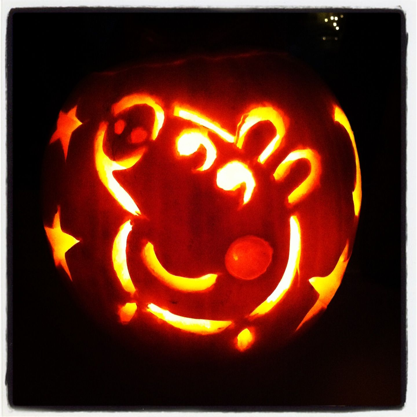 Peppa Pig Pumpkin Finally Carved Out Halloween Pumpkin Designs Cute Pumpkin Carving Disney Pumpkin Carving