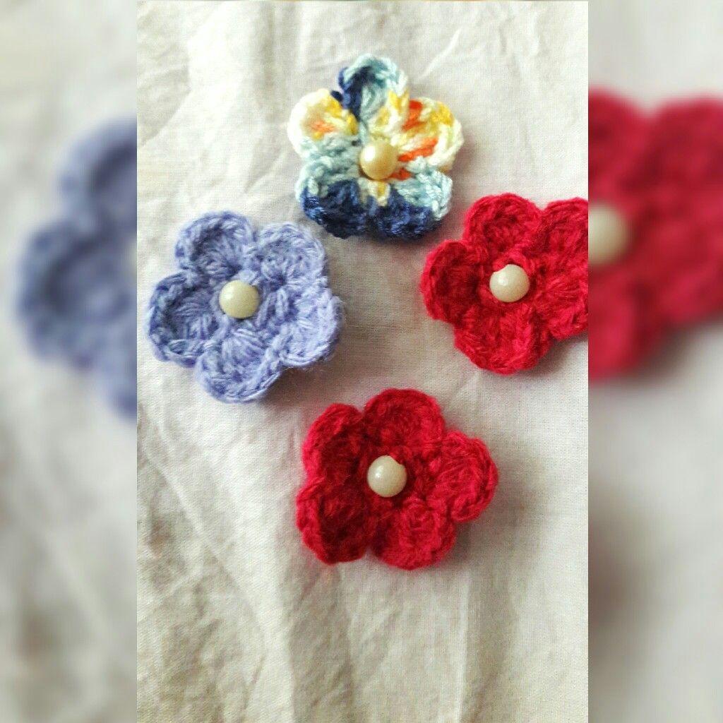 örgü çiçekler A Kendi El Işilerim Ve Daha Fazlasi Pinterest