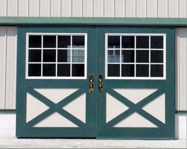Country Squire Sliding Barn Door With Windows By Barn Door Guy Via Flickr Maybe Sliding Barn Doors On S Barn Doors Sliding Horse Barn Doors Sliding Shed Door