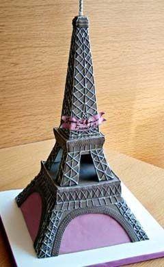 Paris , France Cake