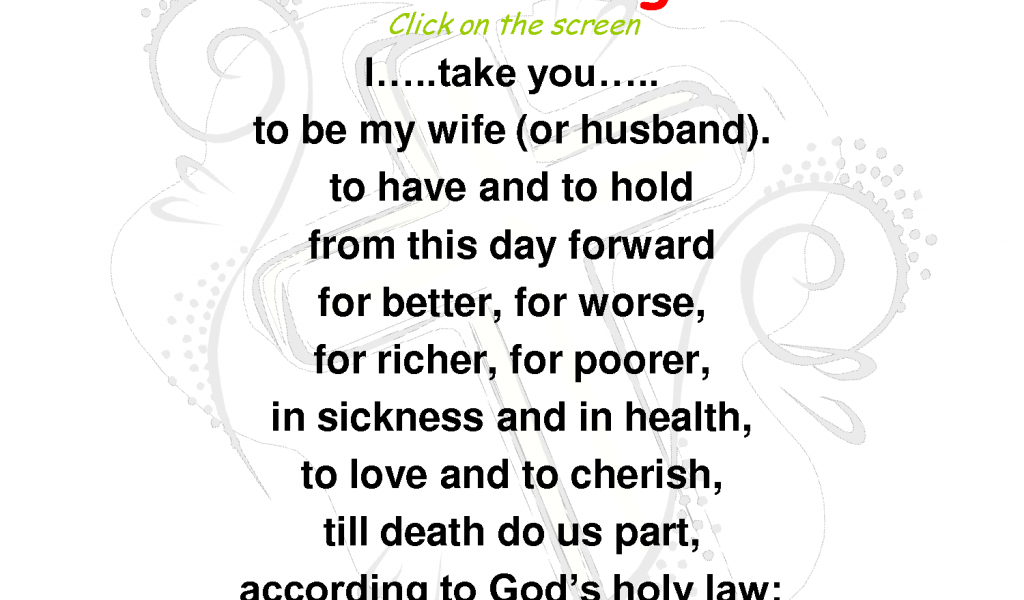 Traditional Wedding Vows Example Ideas Youll Love Traditional Wedding Vows Wedding Vows Examples And Vow Examples