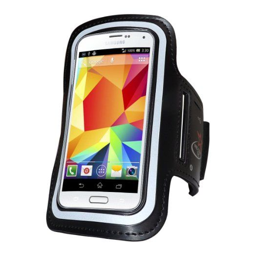 Samsung Galaxy S6 / S5 Running Armband with An Adjustable Band With Key Holder For Men & Women