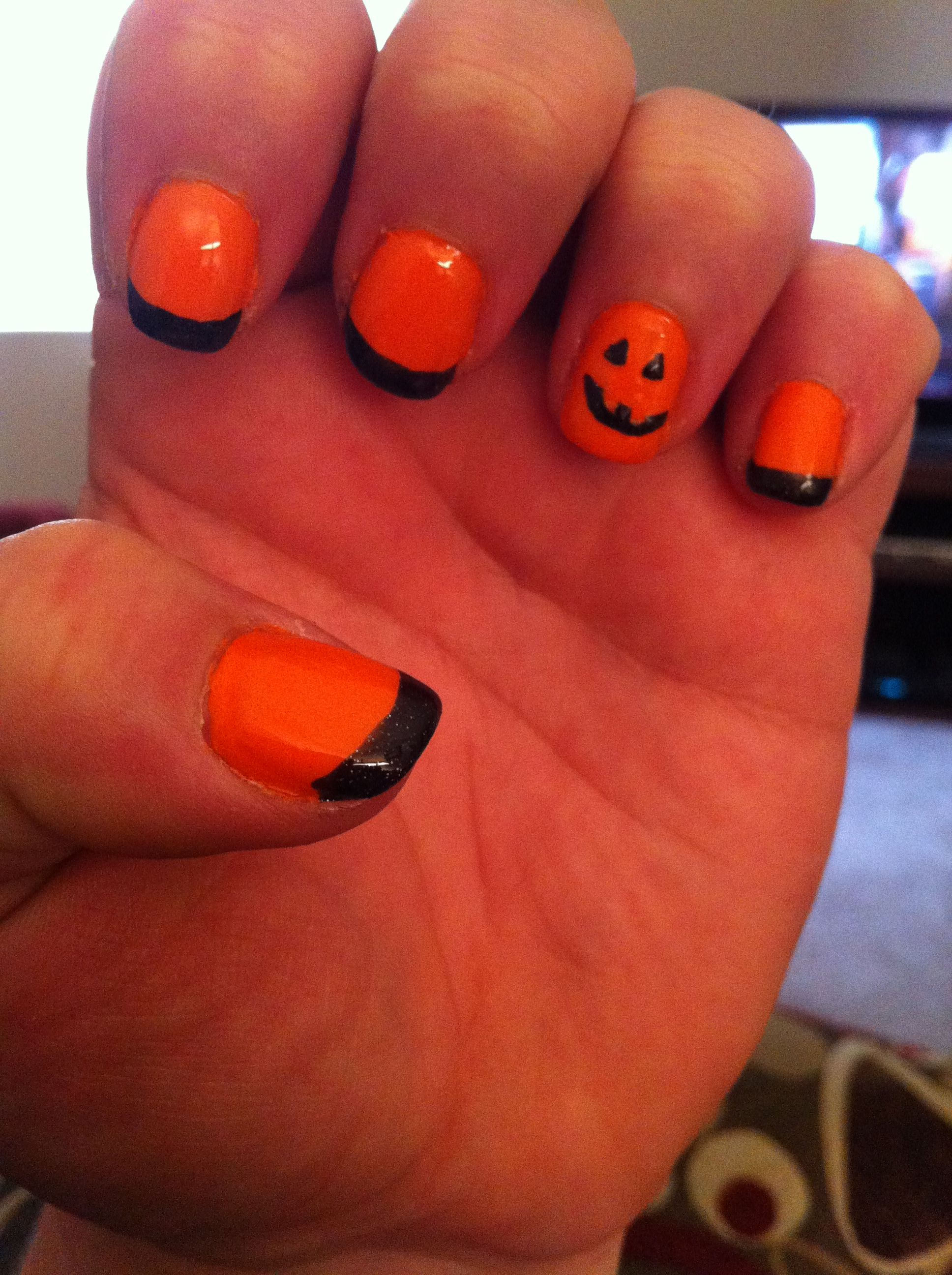 Halloween Nails :) (With images) | Crazy nails, Nails ...