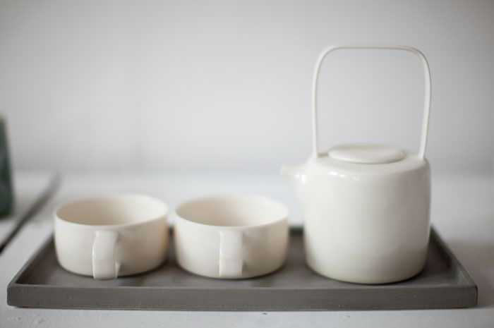 So Simple And Modern Tea Set Transparent Glaze Derek Wilson Ceramic Tea Set Tea Sets Modern Ceramic Tableware