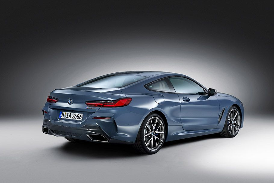 Bmw Showcases The 2019 8 Series Coupe Model Bmw Bmw Car Models Bmw Models