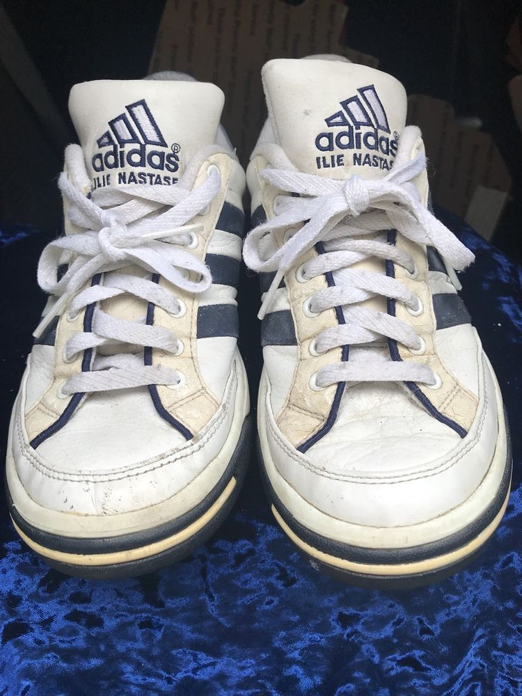 best website 5bc0c 32e9e Vintage 1998 Ilie Nastase 20th Anniversary Adidas Shoes  fashion  clothing   shoes  accessories  vintage  womensvintageshoes (ebay link)