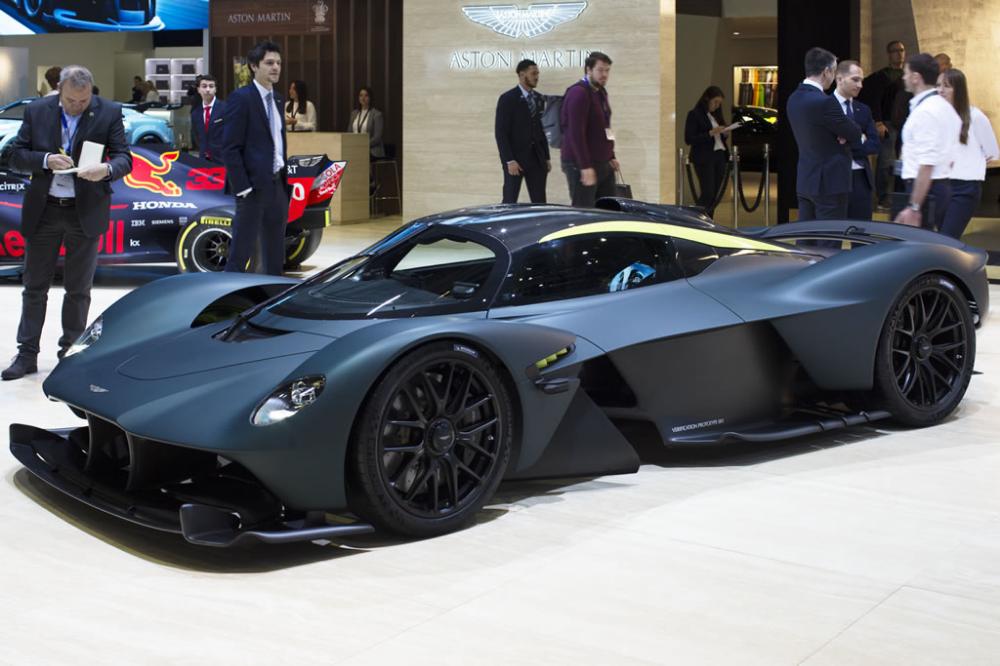 Aston Martin Valkyrie Verification Prototype 001 - 2019