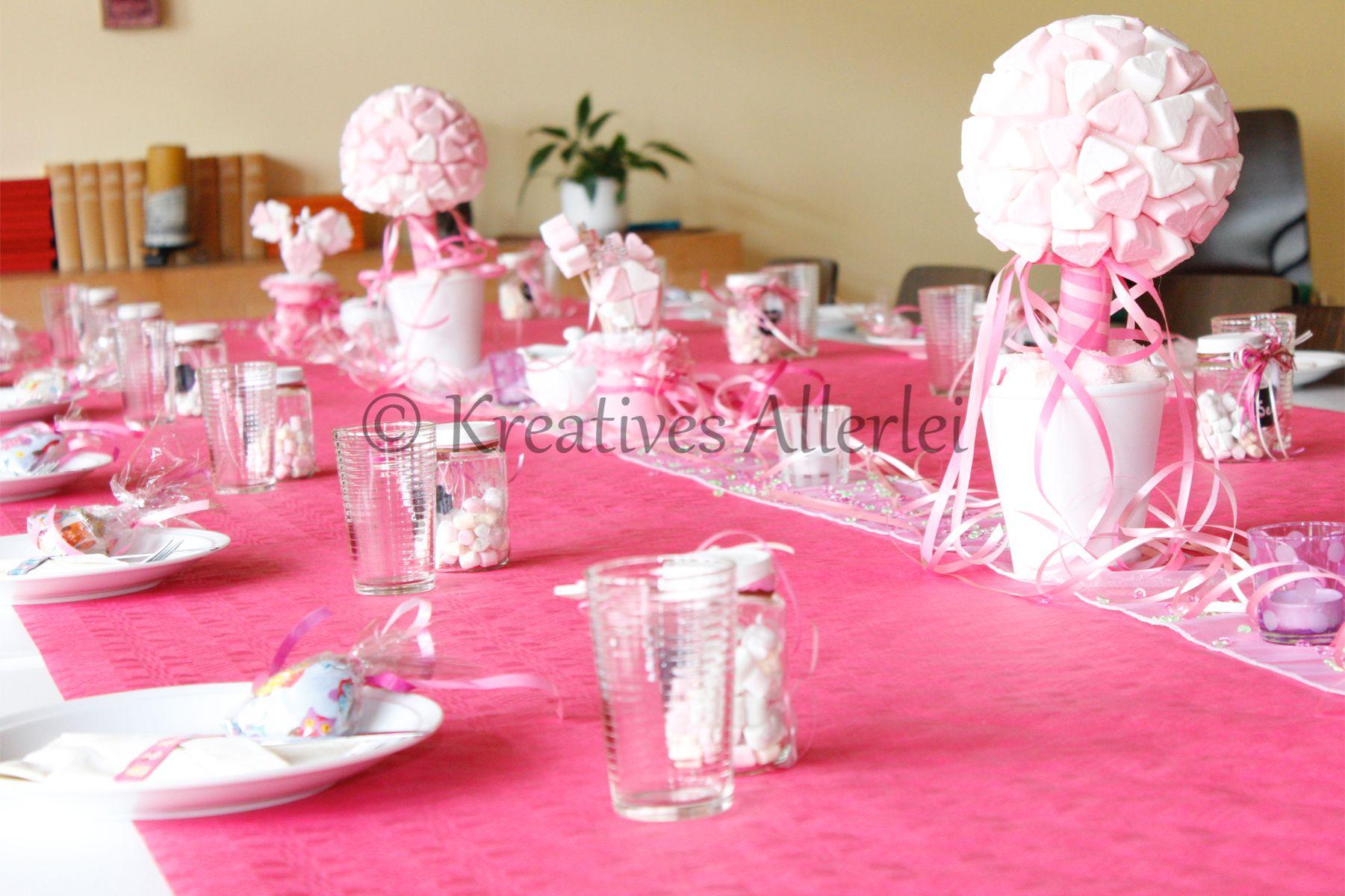 Tischdeko Taufe Ideen Tischdeko Taufe Blumen Pinterest Ein Katalog