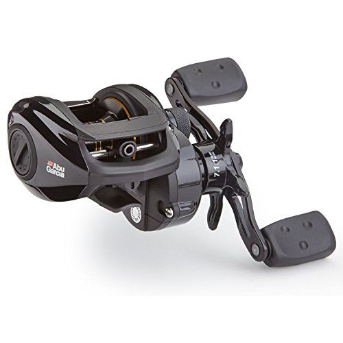 Abu Garcia Promax 3 Left Handed Reel Black Gold 7 Stainless