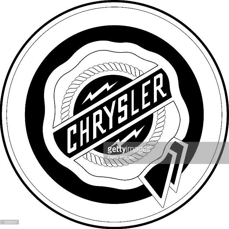 The Chrysler Logo Is Seen In This Undated Handout Image