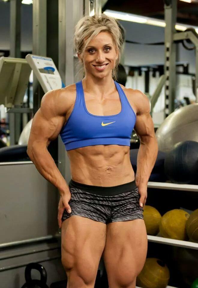 sexy nackte weibliche Fitnessmodelle