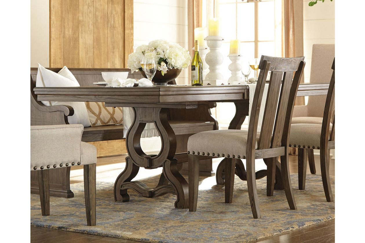 Wendota Dining Room Table Ashley Furniture Homestore Cottage