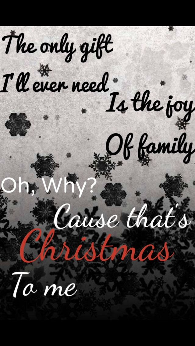 From That's Christmas To Me by Pentatonix *Originally made