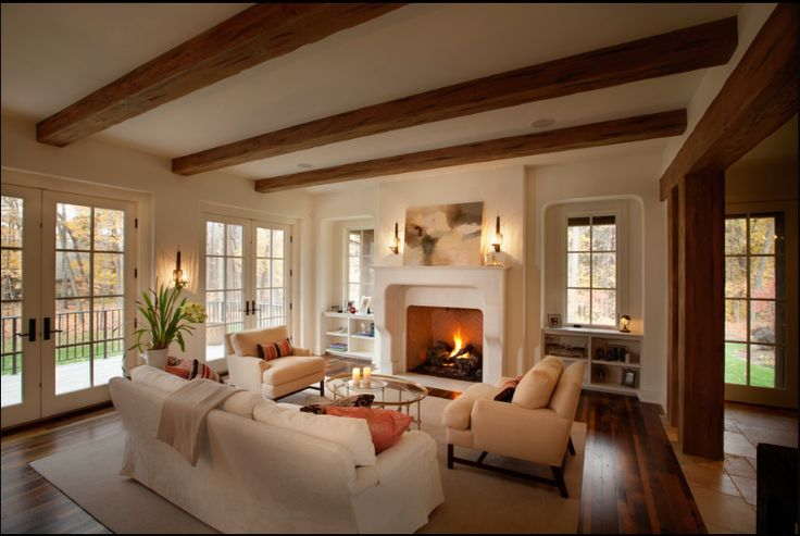 Rustic Chic Living Rooms Google Search