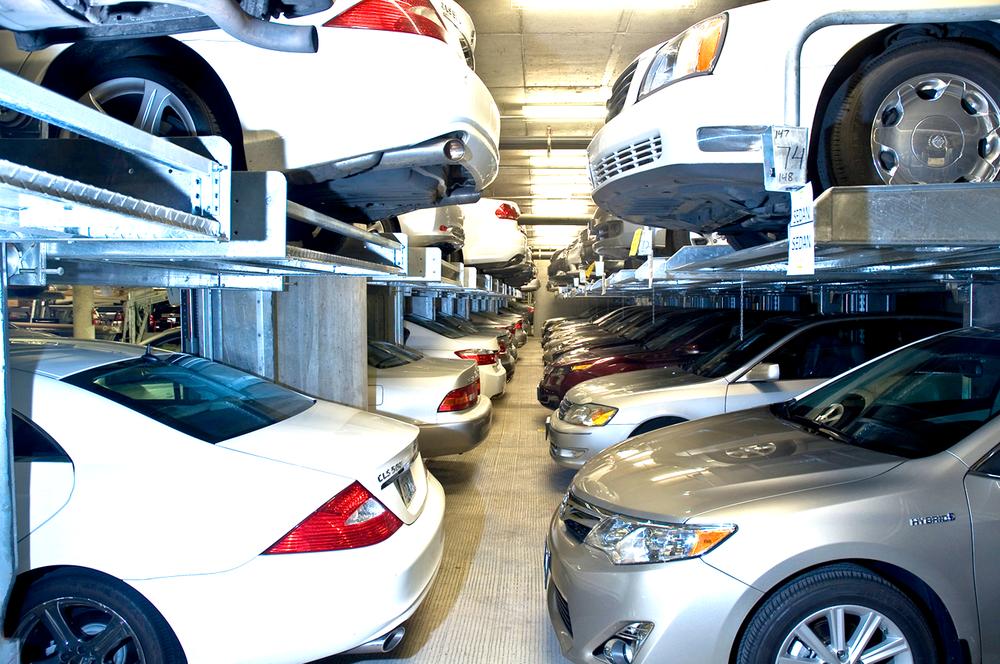 Hydraulic Car Lift Car Parking Lift Auto Stacker Auto
