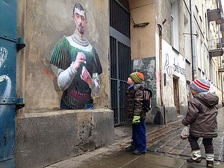 A Global Art Project Brings Paintings of Anonymous Figures out of Museums and onto the Streets