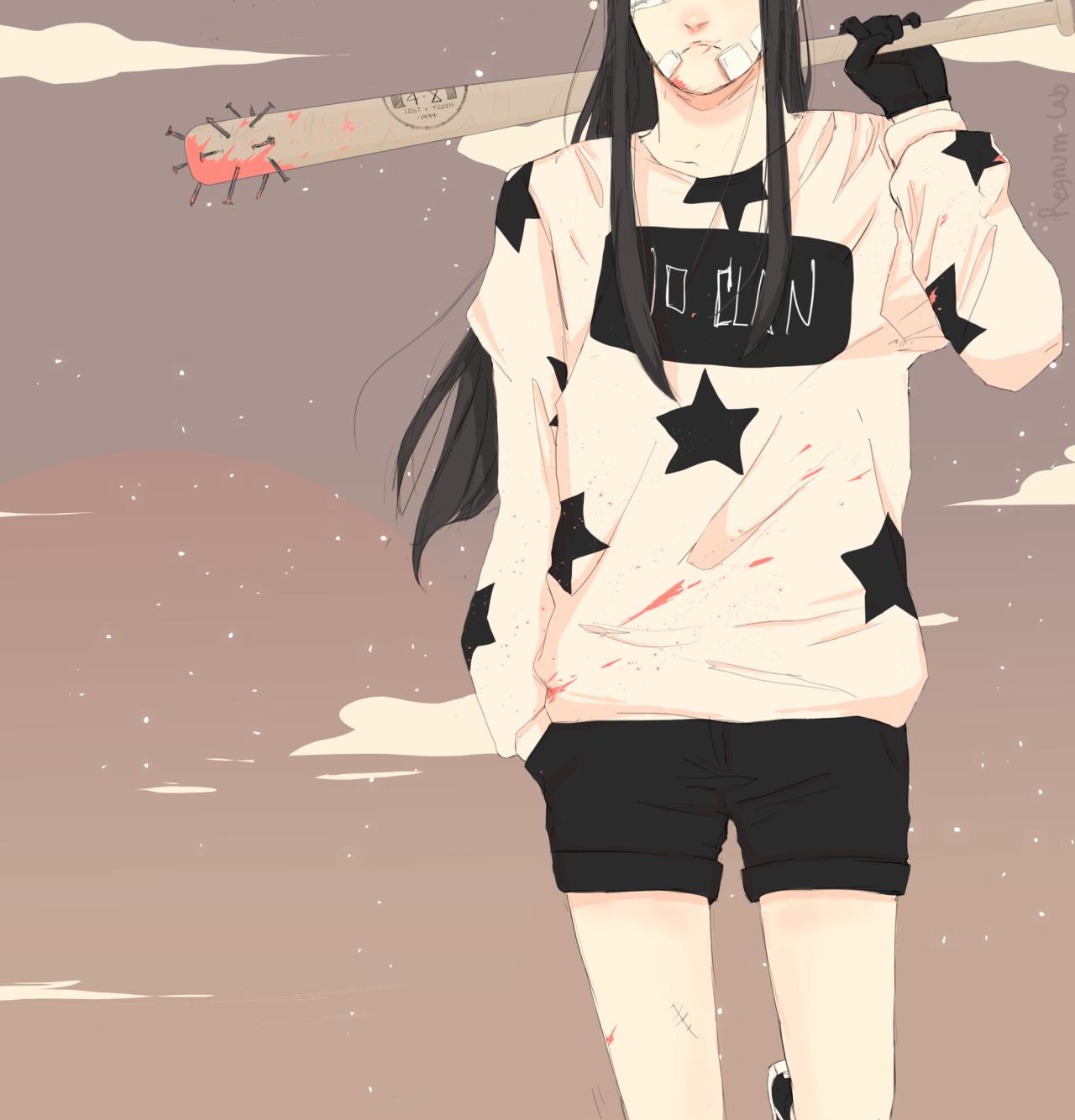 """a quiet summer. スケバン [ PART. II ] """