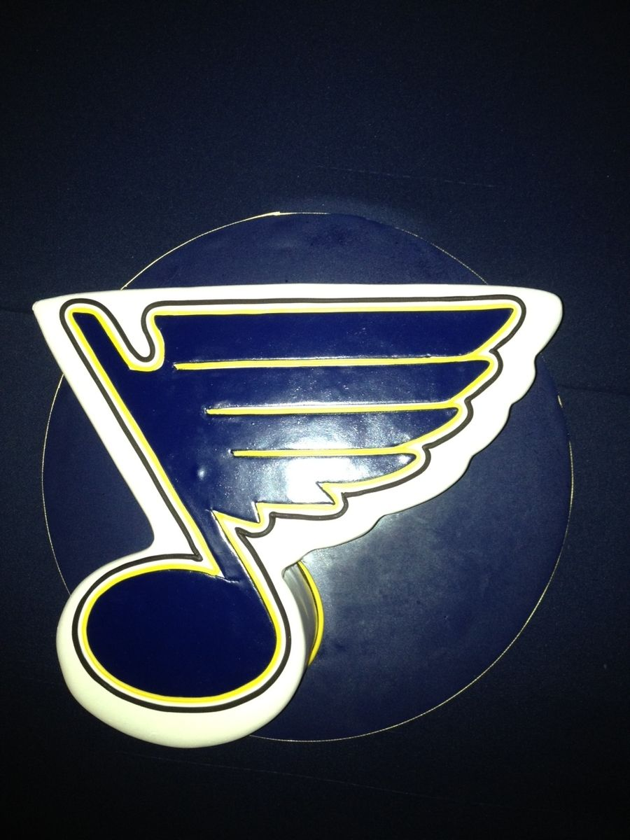 St louis blues blues note pinterest st louis blues and cake