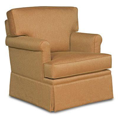 Fairfield Chair Loose Pillow Back Glider Rocker Arm Chair Color: