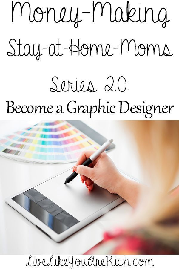 How to Make Money as a Graphic Designer from Home | Graphic ...