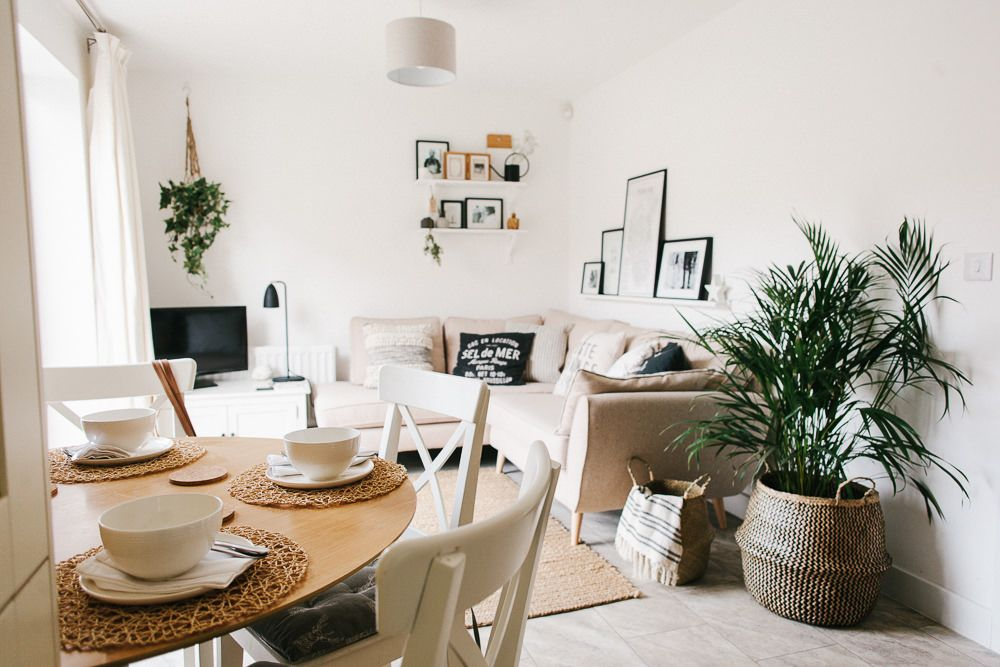 Scandi Open Plan Kitchen Lounge Makeover Image By Adam Crohill Living Room Dining Room Combo Living Room Makeover Open Plan Kitchen Living Room #small #open #concept #living #room