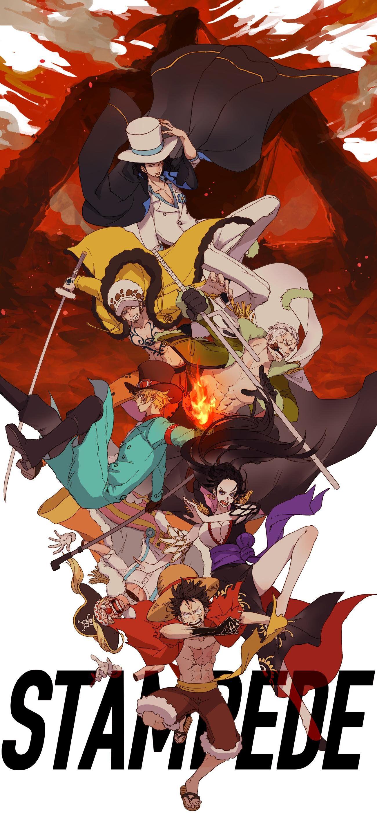 stampede by kieshi heta one piece anime one piece fanart one piece ace