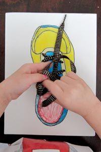 Schnursenkel Binden Schuhe Binden Lernen Kids Ideen Fur Kinder