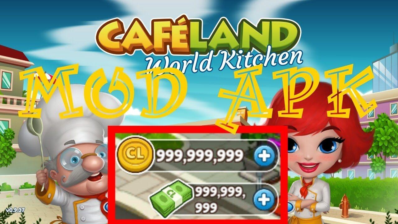 Download cafeland world kitchen apk mod and get