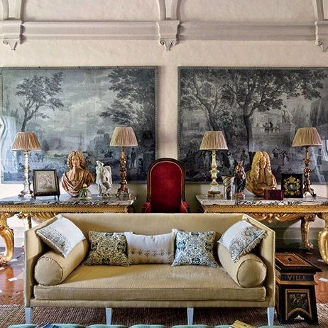 The aesthete printed wall coverings architectural digest