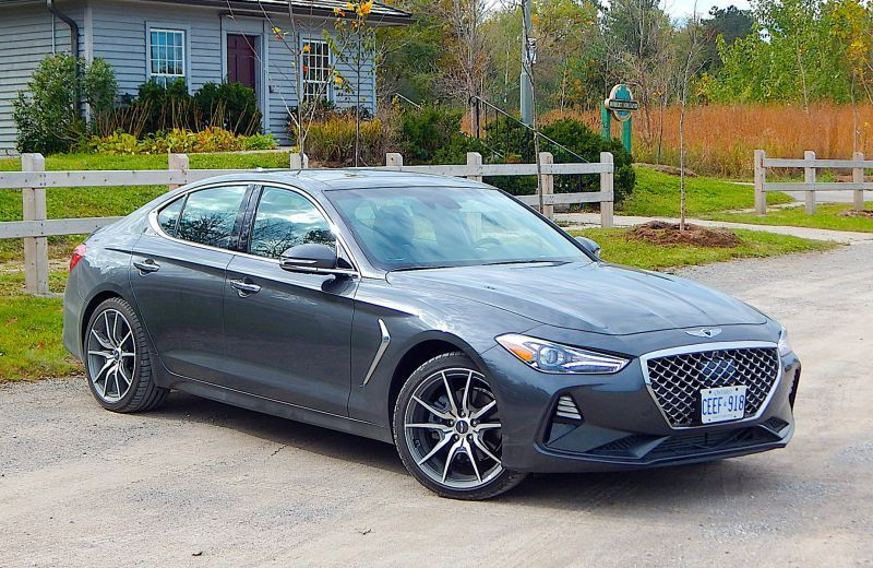 Car Comparison 2019 Genesis G70 2.0T vs. 2018 Mercedes