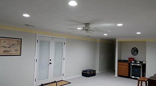Bonlux 12w 5 6 Inch Ul Listed Dimmable Retrofit Led Recessed Lighting Fixture 120v Medium Screw E26 Living Room Lighting Recessed Lighting Led Ceiling Lights