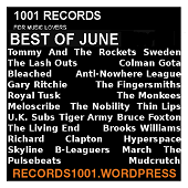 BEST SONGS JUNE 2016 https://records1001.wordpress.com/
