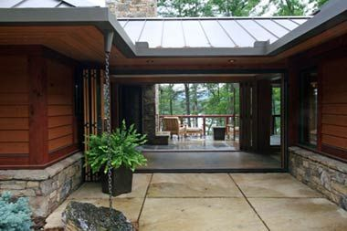 Breezeway metal roof my new house breezeway Modern breezeway house plans