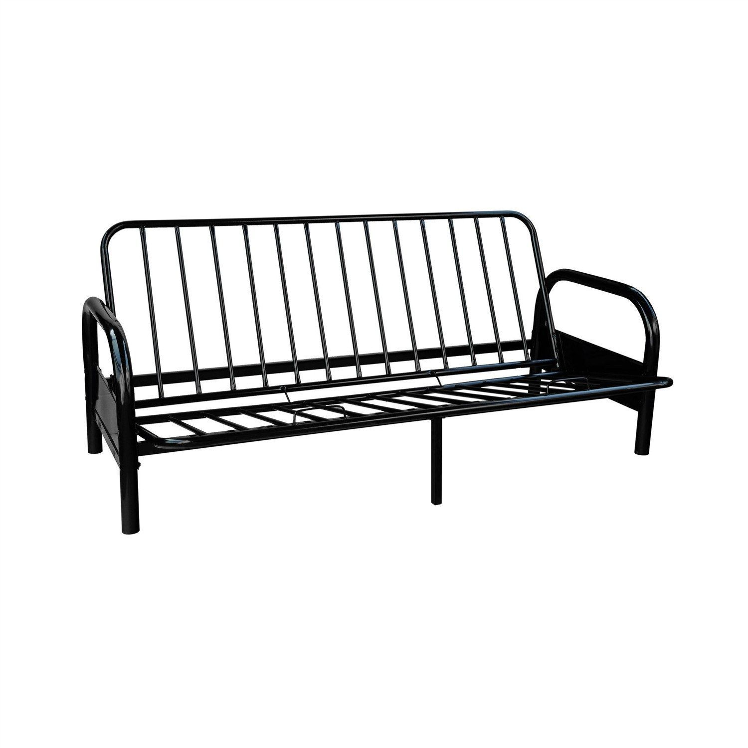 multiple com futon metal futons frame furniture aiden dhp walmart shop black colors