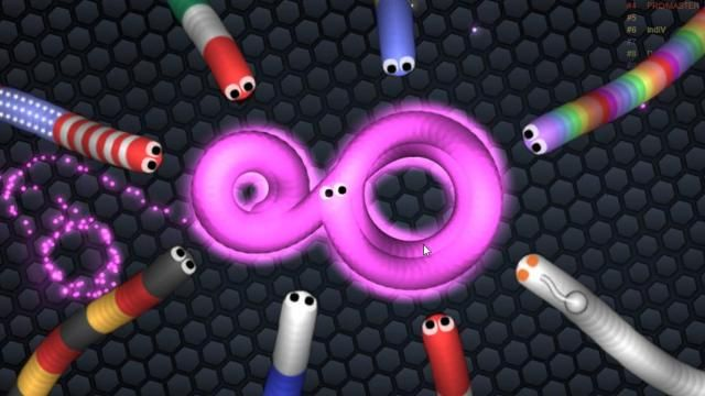 Slither Io Cool Multiplayer Online Arcade Game At Friv 2